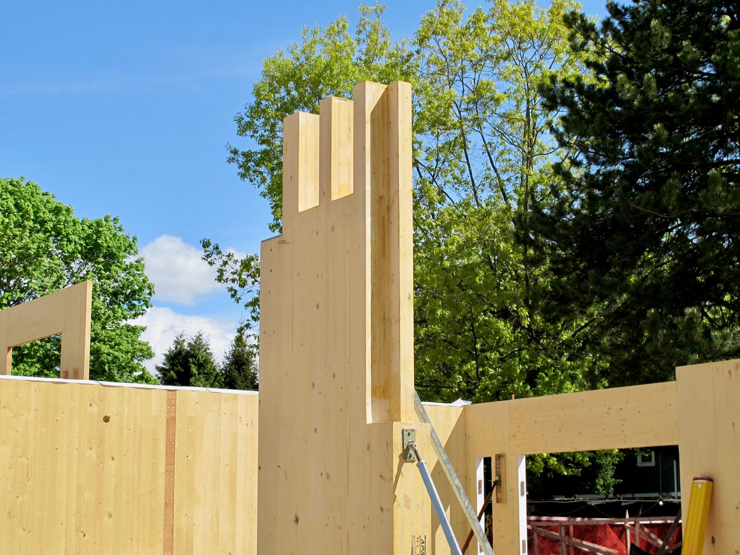 SPF Mass Timber Cross-Laminated Timber (CLT) Wall